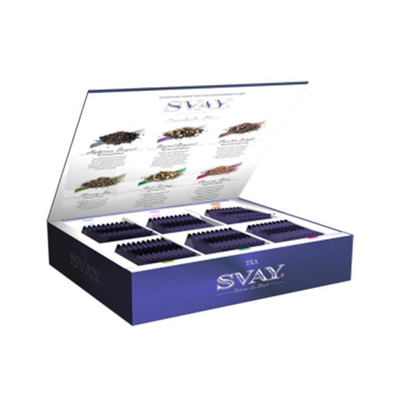 Подарочный набор чая Svay Sachet Bar, 60 саше