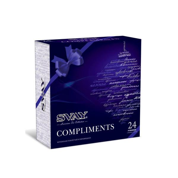Подарочный набор чая Svay Compliments, 24 пирамидки