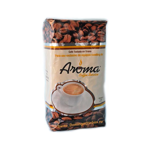 Кофе в зернах Santo Domingo Aroma 453,6 г