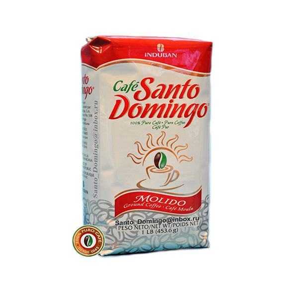Кофе молотый Santo Domingo 453,6 г