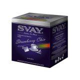 Чай фруктовый Svay Strawberry Chic (Свей Клубничный шик), 20 саше