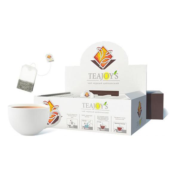 Чай Teajoy's черный цейлонский, 100 пакетиков