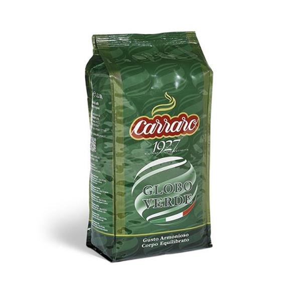 Кофе в зернах Carraro Globo Verde 1 кг