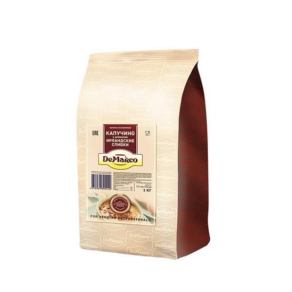 Капучино с ароматом ирландских сливок DeMarco 1 кг