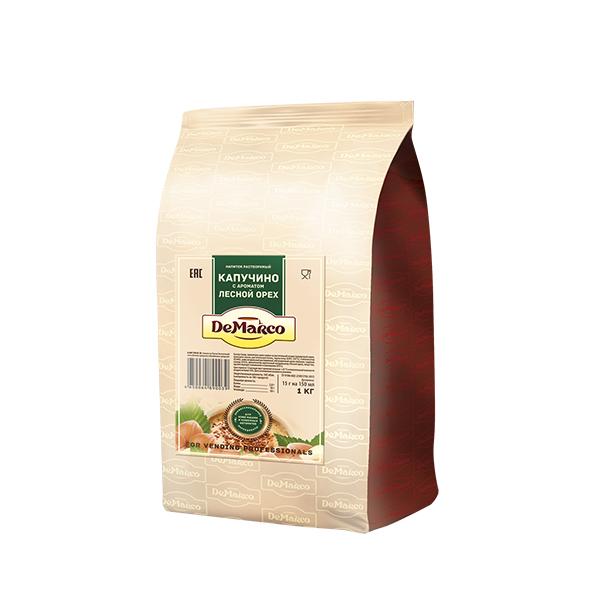 Капучино с ароматом лесного ореха DeMarco 1 кг