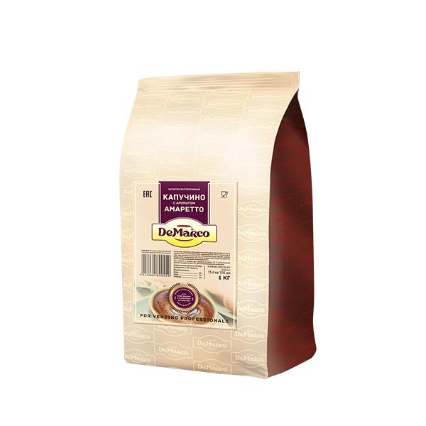 Капучино с ароматом амаретто DeMarco 1 кг