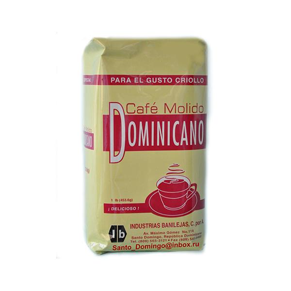 Кофе молотый Santo Domingo Dominicano 453,6 г