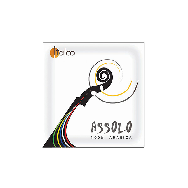 Кофе в чалдах Italco Assolo 100% Arabica 1 шт.