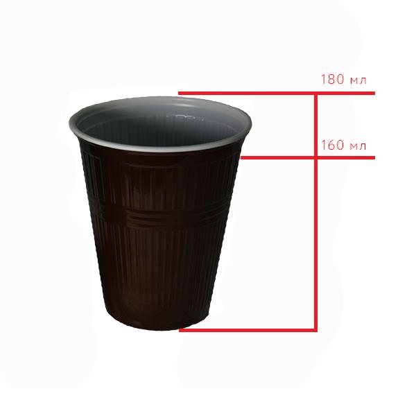 Стакан пластиковый для горячих и холодных напитков Expert, 180 мл