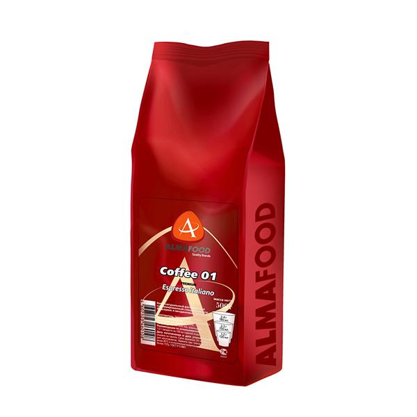Кофе AlmaFood сублимированный 01 Premium Espresso Italiano, 500 г