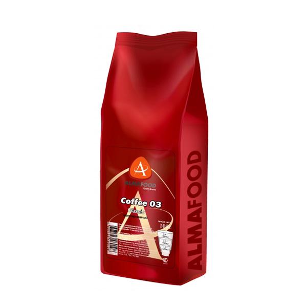 Кофе AlmaFood растворимый 02 Classic гранулированный, 500 г