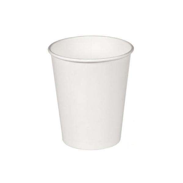 Бумажный стакан белый 165 мл
