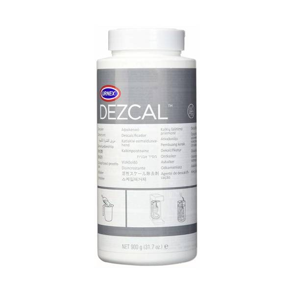 Чистящее средство Urnex Dezcal 900 г (порошок) для кофемашин и кофеварок