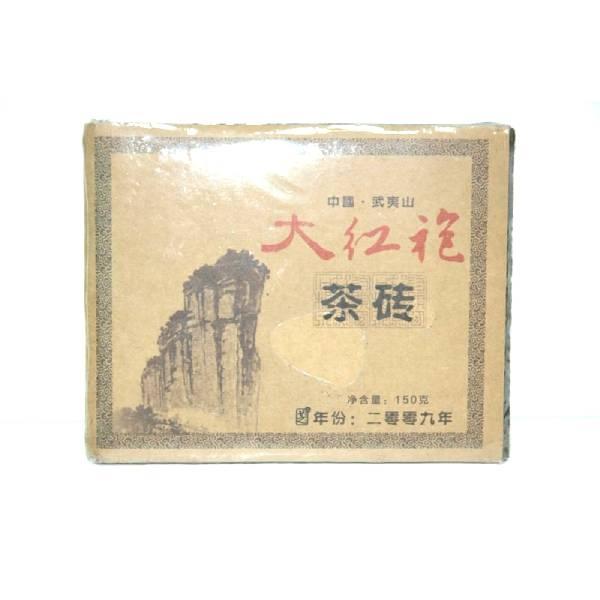 Да Хун Пао (Большой красный халат) в плитке, высшая категория (484), 150 г