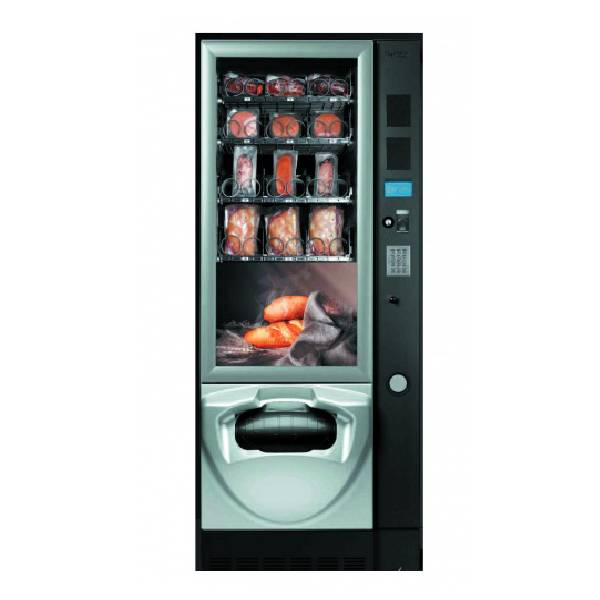 Снековый торговый автомат Fas JUST NOW 4-15 с интегрированной микроволновой печью