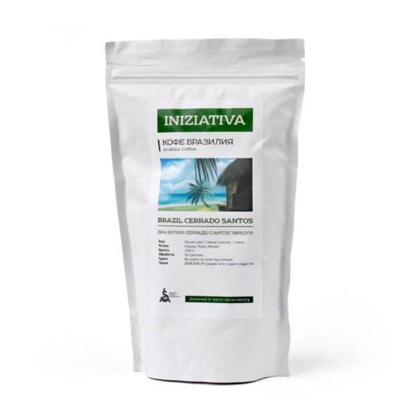 Кофе в зернах Gurme Iniziativa Бразилия Серрадо Сантос Мицуи (specialty кофе) 1 кг